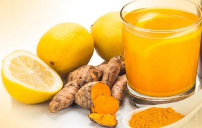 Avoid tea Drink healthy turmeric and ginger water in winter